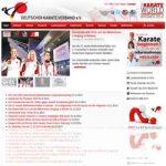 RSS Feed Deutscher Karate Verband DKV Bundesverband sowie Landesverbände