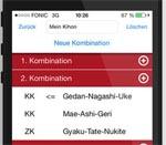 Karate App von tedokai