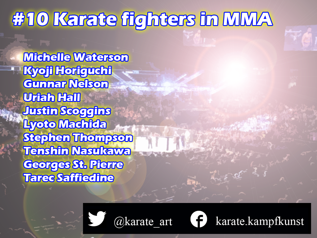 Karate in UFC Karate in MMA