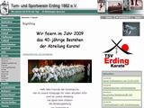 85435, TSV Erding 1862 e. V. : Karate : Startseite