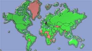 karate-weltweit-karte