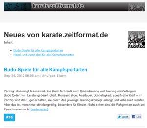 Karate Newsletter