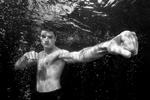 Karate unter Wasser