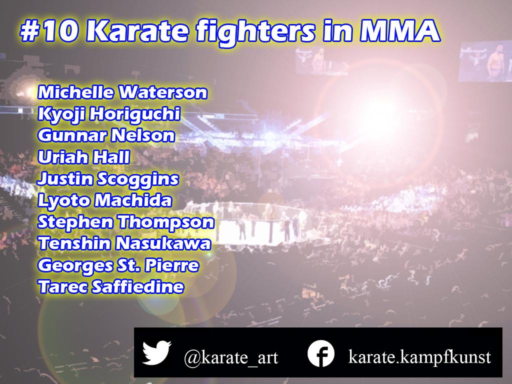 Karate in UFC Karate in MMA