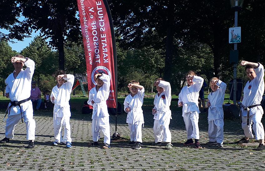 Troisdorf Karate Anfänger Lehrgang