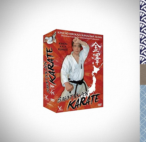 DVD-Set-Shotokan-Karate-Kihon-Kata-Kumite