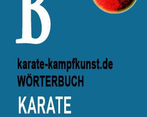 karate-lexikon-b