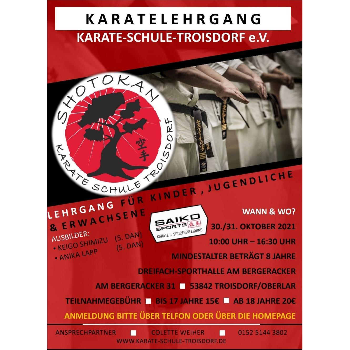 karate lehrgang troisdorf