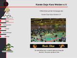92637, Homepage Karate Dojo Kara Weiden e.V.