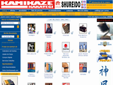 Kamikaze: First class Karate equipment. Equipos de Karate de primera calidad