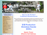 Shotokan Karate Training DVDs from E/B Productions, JKA style
