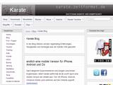 Karate Blog » Karate